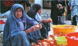 از آئین طشتگذاری تا پیرزنی که خادم امام حسین(ع) است+عکس