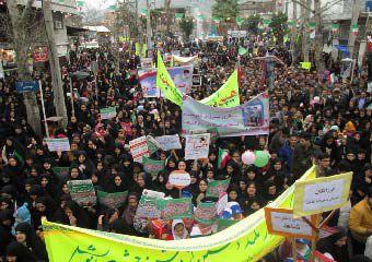 تصاویر / راهپیمایی باشکوه 22 بهمن مردم مینودشت