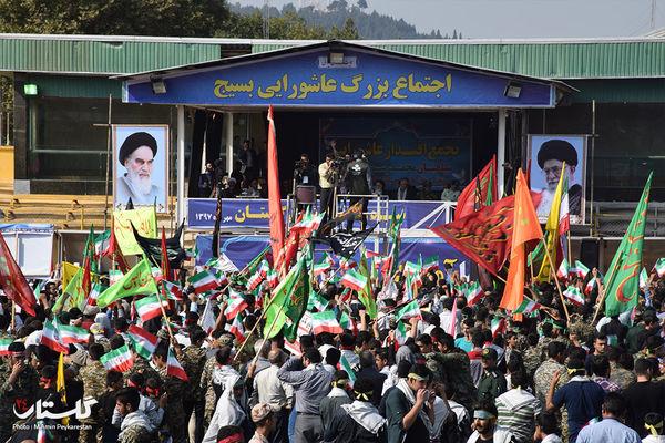تجمع 20 هزار نفری بسیجیان استان گلستان