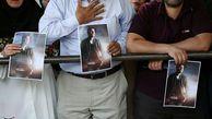 حضور بی نظیر مردم در مراسم تشییع پیکر خواننده مشهور ایرانی + تصاویر