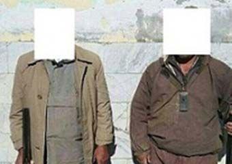 دستگیری 2شکارچی غیر مجاز در گمیشان + عکس