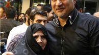علی دایی و مادرش /عکس