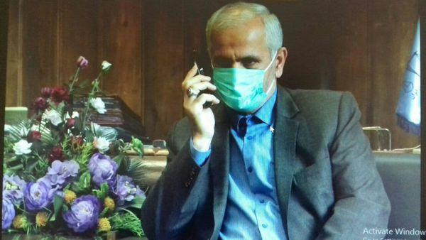 گفتگوی تلفنی رئیس کل دادگستری گلستان با تعدادی از خانواده شهدای استان
