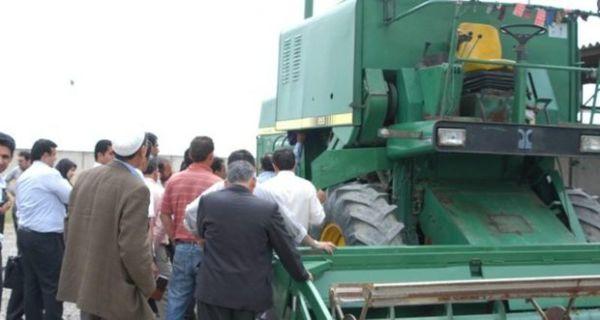 2698 کمباین محصولات پاییزه گلستان را برداشت می کنند