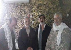 جدیدترین تصاویر سردار سلیمانی در تکریت