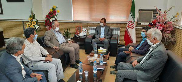 دیدار مدیرکل هواشناسی استان گلستان با فرماندار علی آباد کتول