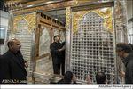 ضریح جدید حرم مطهر حضرت عباس(ع)/تصاویر
