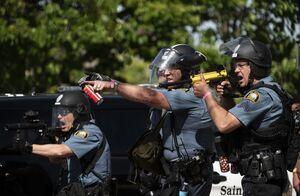 فیلم/ نتیجه شلیک بیرحمانه به صورت زن معترض