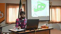 گزارش تصویری/ کارگاه آموزش ایلستریتور